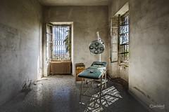 I feel superfluous here (slawomirsobczak) Tags: urbex urbanexploration abandoned lunatic asylum ospendale italy italia