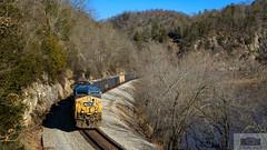CSX U213-13 W.E Alpine 75 (HeritageNY) Tags: buchanan virginia unitedstates us csx hopper train yn2 ac44 james river