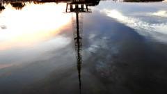 BRASÍLIA - anoitecer (sileneandrade10) Tags: sileneandrade brasília cidade pôrdosol torredetv sunset céu reflexo água espelho nikon