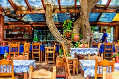 Almyrida, Crete (Kevin R Thornton) Tags: d90 taverna nikon travel people mediterranean greece crete almyrida almirida creteregion gr