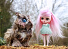 Magical (pure_embers) Tags: pure embers middie blythe doll dolls photography uk laura england girl pureembers charlotte emberscharlotte pink alpaca candyfloss hair reroot plastic pretty owl the charmed land ooak story magical