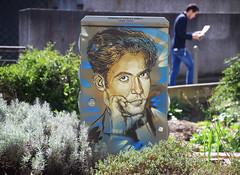 Federico Garcia Lorca (HBA_JIJO) Tags: streetart urban graffiti pochoir c215 stencil art france christianguémy hbajijo painting peinture portrait spray paris92 urbain coffret armoire poête poesie scene street rue