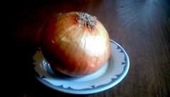 Large onion! 365/175 (Maenette1) Tags: onion vidalia large plate menominee uppermichigan flicker365 allthingsmichigan project365 projectmichigan michiganfavorites