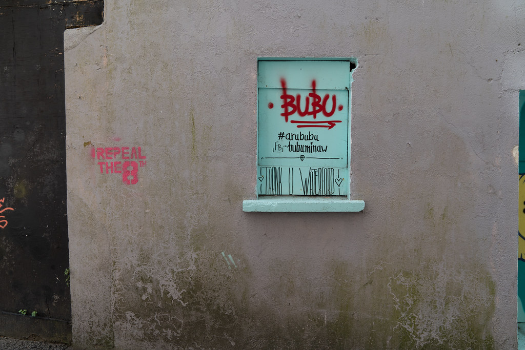EXAMPLES OF STREET ART [URBAN CULTURE IN WATERFORD CITY]-142288