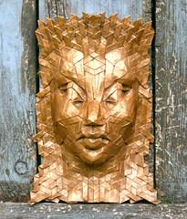acantha 5 (origami joel) Tags: origami mask origamijoel