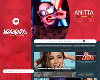 Layout responsivo para Wordpress | Anitta Daily Br