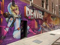Graffiti Denver, CO (elnina999) Tags: denver colorado graffiti streetartphotography wallpaint paintedgraffiti graffitiandcitymurals spraypaint artisticexpression samsungs6edgeplus phonephotography mobilephotography