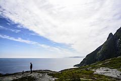Lofoten, close to Å (lasse christensen) Tags: dsc3739 norge norway nordland lofoten å mountains fjell sky himmel skyer clouds