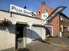 baarle_036 (OurTravelPics.com) Tags: baarle front pizza grens restaurant chaamseweg street