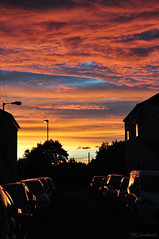 """""""Photography"""" (HiJinKs Media...) Tags: colori colours colors clouds colores city sky sun sunset shadows seasons silhouette cars houses homes photography gradient reflections windows surreal summer serenity nature nikon bristol"""