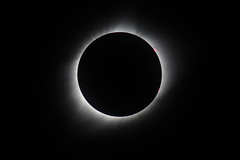 Total Solar Eclipse, with Prominence - August 21st 2017 - Nebraska (BeerAndLoathing) Tags: totality 2017totalsolareclipse usa 2017 roadtrip eclipse solareclipse 77d arnold august trip greatamericaneclipse canon eclipsetrip nebraska summer unitedstates us canoneos77d