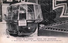 The command nacelle of Zeppelin LZ 96 / L 49 exposited at the Musée de l'Armée in Paris [Germany, 1917] (Kees Kort Collection) Tags: 1917 commandnacelle l49 lz96 muséedelarmée zeppelin captured dirigible