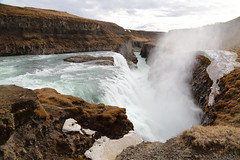 Gulfoss showing its full force. (Chris Firth of Wakey.) Tags: gulfoss waterfall iceland