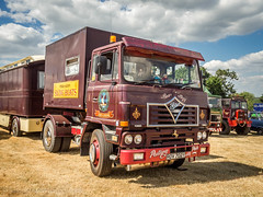 Hollowell 2018 (Ben Matthews1992) Tags: 2018 hollowell steam rally show old vintage historic preserved preservation vehicle transport haulage classic commercial lorry truck wagon waggon foden s104 fleetmaster rov702y showmans showman fairground swingboats