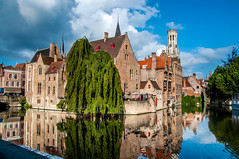 Most Photogenic (Tony Shertila) Tags: belfortvanbrugge belfryofbruges bruges brugge dijver marketsquare architecture belfort bridge brussels building canal city cityscape europe tower water vlaanderen belgium bel 20170831094440belgiumbruggelr2017