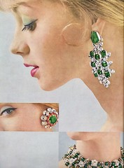Vogue editorial shot by Evelyn Hofer 1959 (barbiescanner) Tags: evelynhofer vintagejewellery editorial vintage retro fashion vintagefashion 50s 50sfashions 1950s 1950sfashions 1959 vogue vintagevogue lilymorroy