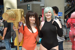 Diane & Elizabeth (GetChu) Tags: anime expo 2018 ax los angeles convention center cosplay comic manga cartoon coser video game character costume tv show the seven deadly sins hammer diane envy elizabeth