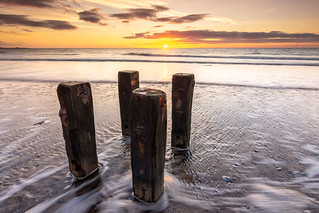 Cambois Beach Sunrise