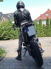 AVRO-Jacke mit Levi's 511 (leather_bikerms) Tags: dainese avrod1 leatherjacket lederjacke levis sidi motorradstiefel motorradjacke