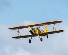 Stearman_117813 (gpferd) Tags: 2xteleconverter airplane boeingn2s clouds stearman vehicle vintageairplane