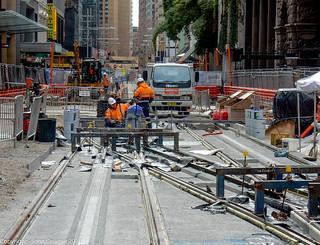 CBD & South East Light Rail - George Street - Update 8 August 2018 (4)