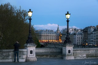 Pont Neuf & Place Saint-Michel, Paris