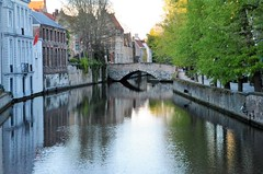 Brügge and its canals - Reflections - Explored, best # 55 on Apr. 19, 2018 (presbi) Tags: bruges brujas canal waterscape reflections reflets riflessi