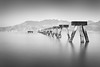 To His Legacy (seednie) Tags: monochrome ruins rusticdecay abandonedstructures wideangle sunrise longexposure orton fineart monochromaticlandscapes digitallightph sidneyalonzophotography fscc