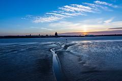 Sunset on the Mersey (Neil Sherwood Photography) Tags: tide hdr river mersey merseyside uk tokina d7200 nikon liverpool sunset