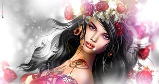 Λυ�α ⚘ La vie en... rose! ⚘