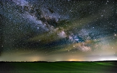 Spring #2 (BalintL) Tags: milkyway milky way landscape astroscape field fields hills night sky star stars cloud clouds dark magyaregres fuji xt10 samyang 12mm f2 wide open stack stacked sequator spring hungary ngc