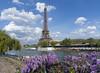 Spring in Paris: Wisteria and Tour Eiffel (Ingunn Eriksen) Tags: spring paris toureiffel eiffeltower eiffeltårnet france seine river historicalbuilding