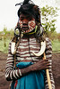 face paint (rick.onorato) Tags: africa ethiopia omo valley tribes tribal mursi child