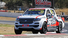 HOLDEN Colorado TEST (2) (Jungle Jack Movements (ferroequinologist)) Tags: tomas gasperak 22 18 holden gm gmh colorado ross stone racing sp tools ac delco test day super ute supercar superute winton raceway vic victoria virgin australia ecb 2018 motor pass race speed car hottie track pole timing hard competition event saloon sports racer driver engine oil petrol build fast grid circuit drive helmet marshal starter sponsor number class motorsport utility pickup table top flat bed bin step side bakkie