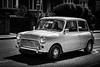 Classic (Kieron Ellis) Tags: street candid mini driving metro classic man blackandwhite blackwhite monochrome