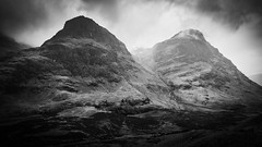Two Sisters (Joe Hayhurst) Tags: 2018 highlands joehayhurst landscape lumix scotland summer threesisters glencoe glen coe