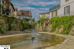 Salies-de-Béarn (https://pays-basque.coline-buch.fr/) Tags: 64 aquitaine aquitainelimousinpoitoucharentes béarnaquitaine pyrénéesatlantiques salies ville saliesdebéarn canal eau evacuation