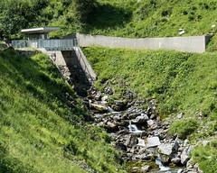 MUO030 Mountain Path Bridge with Weir over the Gwalpeten Brook, Bisisthal SZ - Unterschaechen UR, Switzerland (jag9889) Tags: 2018 20180725 bach barrage bisistal bisisthal bridge bridges bruecke brücke ch cantonschwyz cantonuri cantonofschwyz cantonofuri centralswitzerland crossing ebs elektrizitätswerkdesbezirksschwyz europe fluss gkz740 helvetia infrastructure innerschweiz kantonschwyz kantonuri landscape mountain muota muotakraftwerk muotatal muotathal outdoor pont ponte powerplant puente punt reusstributary river sz schweiz schwyz span stauwehr structure suisse suiza suizra svizzera swiss switzerland ur unterschaechen unterschächen uri wasser water waterway weir zentralschweiz ebsenergieag jag9889