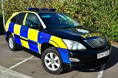 Port Of Tilbury Police Lexus RX350 EY57 GTU (policest1100) Tags: port of tilbury police lexus rx350 ey57 gtu