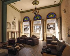 Living Room, Casa Obrapia, Havana (Mariasme) Tags: interior livingroom chairs frenchdoors windows patterns shapes havana challengeyouwinner friendlychallenges travels