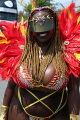 Mysterious (Chuck Diesel) Tags: cleavage titties boobs bewbs caribana2018 masquerader costume parade toronto caribbeancarnival portrait people