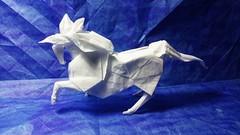 Caballo (GGIamBatman) Tags: origami papiroflexia caballo horse blanco white nicolas