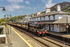 Mainline_2018_07_22_036 (Phil_the_photter) Tags: steam steamloco steamengine steamrailway 45690 leander jubillee 5xp frodsham danieladamson valley penmaenmawr chester northwalescoastexpress northwales rhyl rafvalley