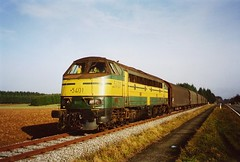 5401 Fratin L289 le 21 11 2003 (2) (James Arnould) Tags: train locomotive belgique sncb nmbs nohab afb serie reek 54