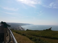 A look out over the beaches of Dieppe