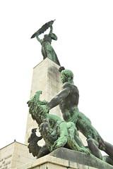 DSC_5296 (emina.knezevic) Tags: statue sculpture architecture citadella budapest citiesofeurope capitalcity monument streetphotography streetphotographer nikond3200 nikon nikonphotographer