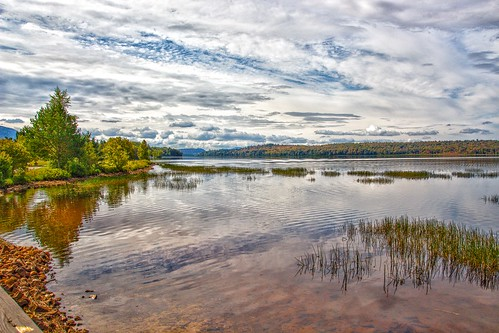 Tupper Lake  New York - Adirondack Park - Reflection