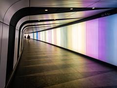 Tunnel (Kevin R Thornton) Tags: galaxy kingscross urban london street mobile architecture s8 city colour england unitedkingdom gb