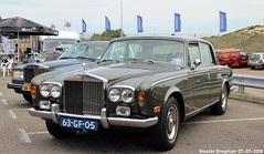 Rolls-Royce Silver Shadow 1975 (XBXG) Tags: 63gf05 rollsroyce silver shadow 1975 rolls royce silvershadow rr v8 british race festival 2018 circuit zandvoort nederland holland netherlands paysbas vintage old classic car auto automobile voiture ancienne anglaise brits uk vehicle outdoor