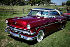'54 Ford (Brian 104) Tags: ford car red 1954 restored